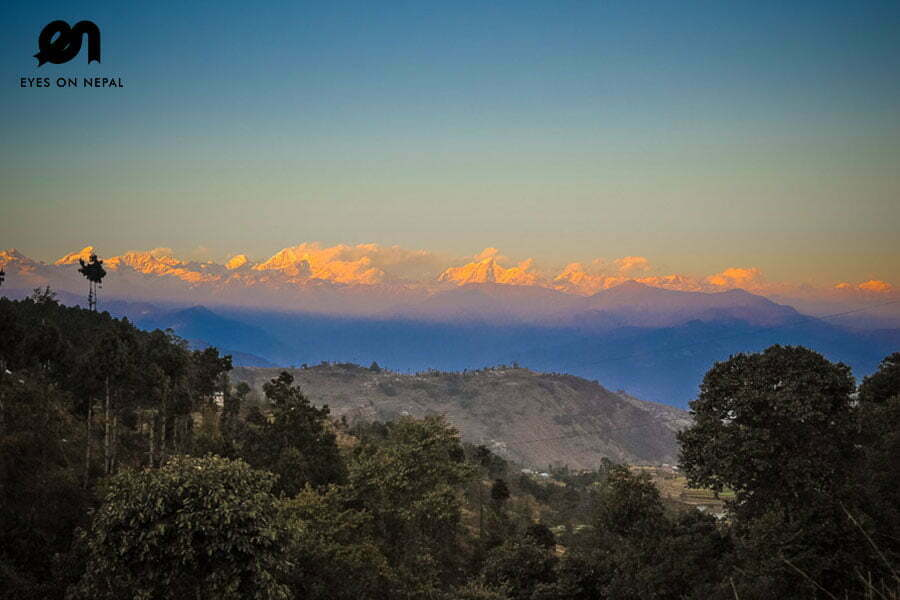 Nagarkot trek sunset view