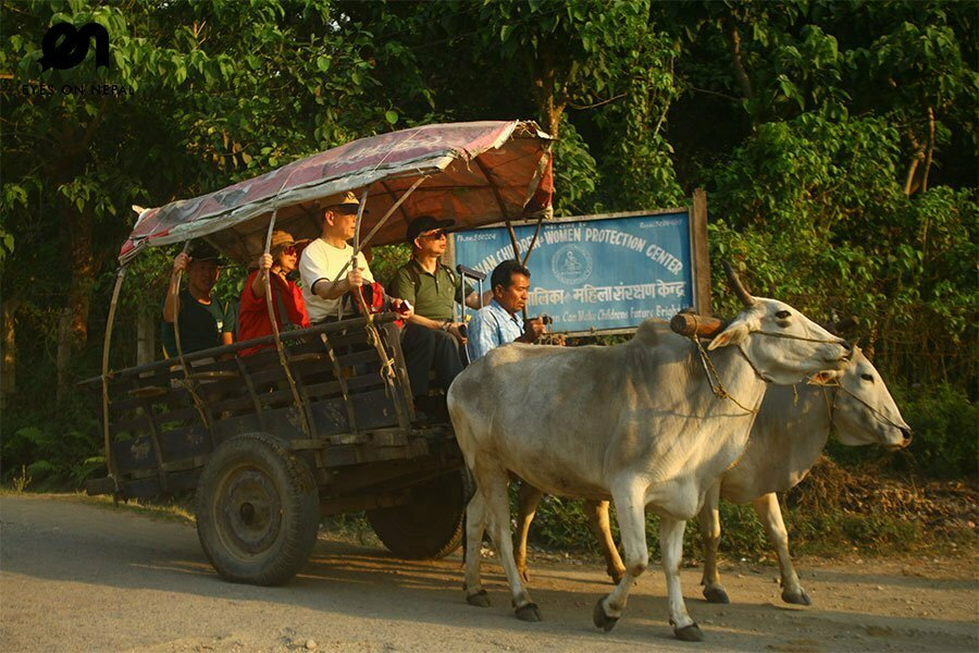 Tharu village tour in Chitwan National Park