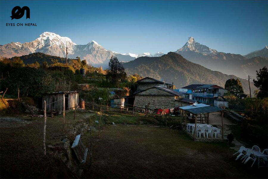 pothana on mardi himal trek