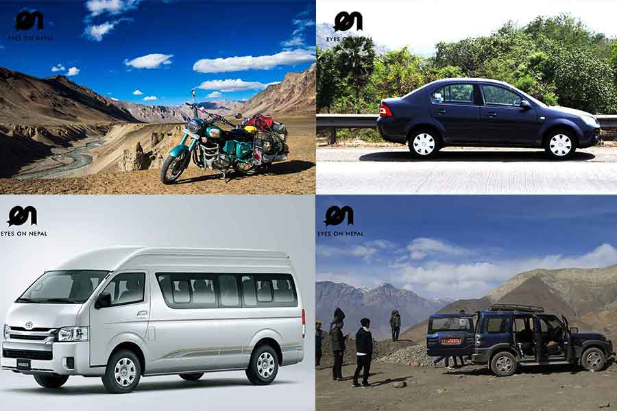 Hire Vehicle in Nepal