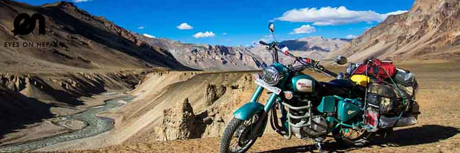 Hire Royal Enfield Motorcycle in Nepal