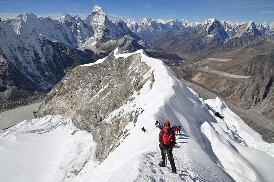 Everest Base Camp Trek with Island Peak Nepal Trek