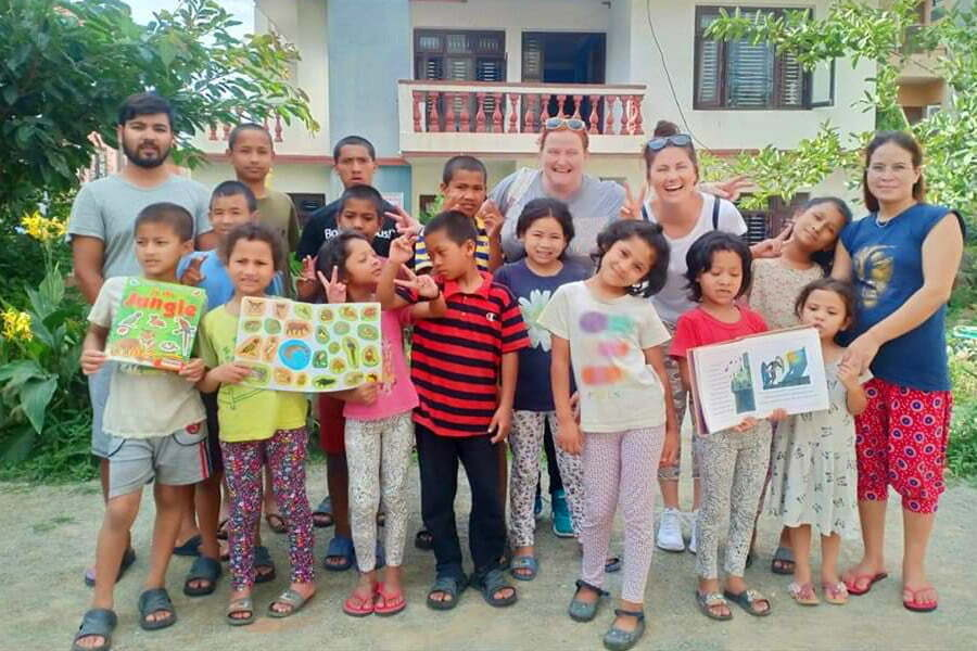 Small orphanage in Kathmandu – Volunteer in Nepal orphanage