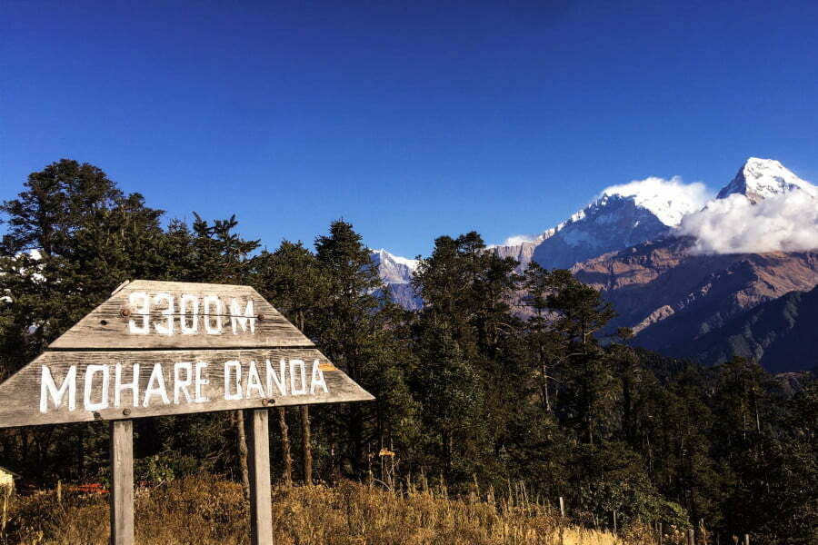Mohare Danda Trek 5 days 4 nights via Poon Hill