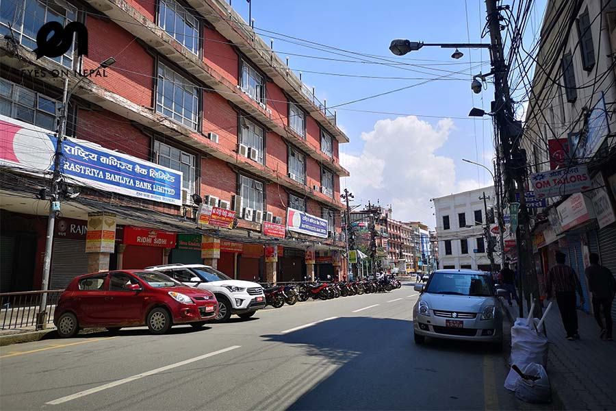 Bishal Bazar in Newroad during lockdown 2020